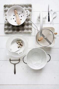 Pure kitchen styling by Femke Pastijn