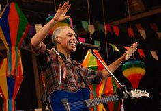 The Best Contemporary Brazilian Music. Gilberto Gil. Link to playlist:  http://www.kboing.com.br/playlist/715687/ ☆☆☆☆☆