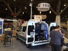 Check out our Fiber Showcase Van! Booth C5646. #NABShow