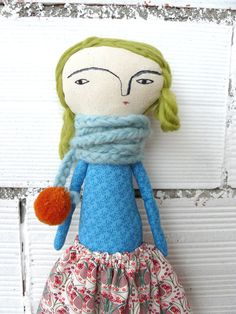 Big size  Julie Special doll: 48 cm / art doll by AntonAntonThings