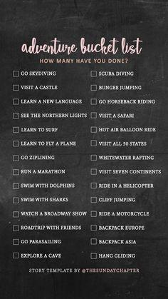 59 Super Ideas For Travel Quotes Adventure Wanderlust Bucket Travel Checklist, Travel List, Travel Goals, Travel Bucket Lists, Travel Rewards, Usa Travel, Time Travel, Travel Style, Adventure Bucket List