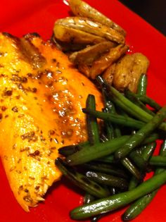 Orange Glazed Salmon - mangia!