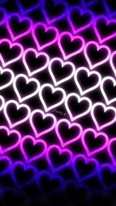 Pretty Phone Wallpaper, Neon Wallpaper, Heart Wallpaper, Butterfly Wallpaper, Kids Wallpaper, Wallpaper Pictures, Colorful Wallpaper, Pattern Wallpaper, Wallpaper Wallpapers