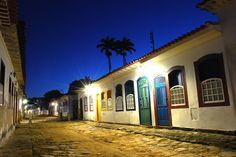 Paraty - centro histórico - Brasil