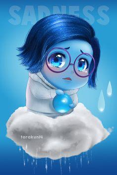 Fanart: Sadness Inside Out by torakun14 on DeviantArt