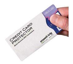 Credit Card Protector - RFID-Blocking Slips (2-Pack)