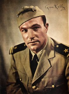 Gene Kelly enlisted in the U.S. Naval Air Service at the end of 1944 and was commissioned as a Lieutenant Junior Grade.