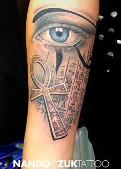 Egypt Tattoo Design, Jesus Tattoo Design, Crown Tattoo Design, Forearm Sleeve Tattoos, Leg Tattoos, Body Art Tattoos, Tattoo Ink, Evil Tattoos, Black Ink Tattoos