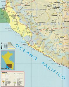 Peru Road Map Peru Pinterest Peru And Capital City - Road map of peru
