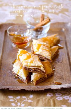 Baklava-The best dessert you will ever eat. No lie..