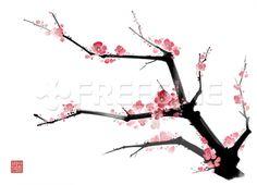 식물, 풍경, 배경, 꽃, 자연, 한국, 나무, 수묵화, 프리진, 한국그림, 동양, 페인터, 동양화, 조선, 매화,    일러스트, 프리진 #유토이미지 #프리진 #utoimage #freegine 9117141