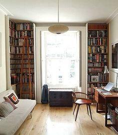 library come spare bedroom - Google Search
