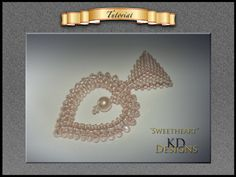 """Tutorial/pattern for """"Sweetheart"""" by KDDesignsbyKDevine on Etsy"""