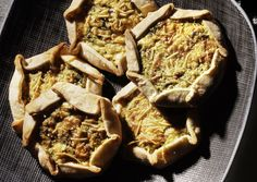 Individual Zucchini, Lemon & Ricotta Galettes  These savory tartlets are similar to quiches.