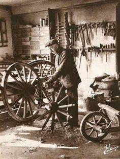 Blog de boiteaoutil : Les vieux métiers et vieux outils, Le charron
