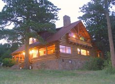 Estes Park Vacation Rental - VRBO 383221 - 7 BR Front Range Lodge in CO, Historic 'Overlook Ranch and Retreat' Mountain Lodge & Cabins 'Summ...