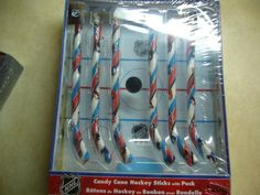 "filler-episodes: "" I was looking for candy canes, and I found this beautiful thing: Yup. With a plastic puck. In a cardboard 'rink' box. It even had hockey trivia on the. Hockey Tournaments, Hockey Games, Hockey Mom, Hockey Players, Sled Hockey, Kings Hockey, Flyers Hockey, Hockey Stuff, Hockey Birthday Parties"