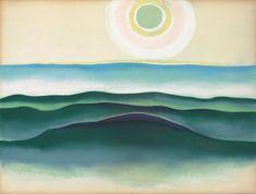 Georgia O'Keeffe   Sun Water Maine, 1922