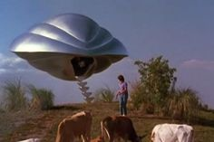 Alien spacecraft - Flight Of The Navigator (1986)