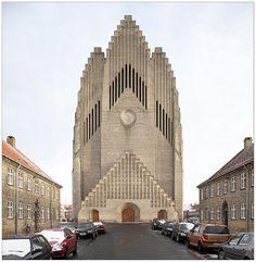 The New Topographics Gothic Architecture, Architecture Design, New Topographics, Kirkenes, Tower Of Babel, Concrete Structure, Building Art, Amazing Buildings, Copenhagen Denmark