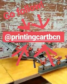 Follow @printingcartbcn #serigrafia #screenprint #screenprinting #silkscreen #zieffdruk