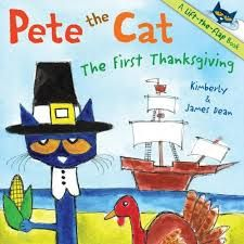 How Pete the Cat Saved My Pilgrim Unit. The genius of using this book is that it features a character I introduce early in the year. My students love Pete and getting to revisit him at Thanksgiving is the hook. The other beautiful part of this book is that the text is simple enough for them to understand what happened.