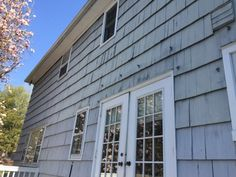 Before Exterior Painting Morristown