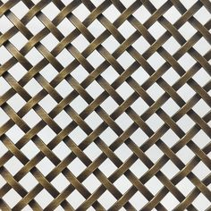 Add an authentic accent to your cabinet or other project with these decorative wire mesh grilles, panels, and aged copper sheets.