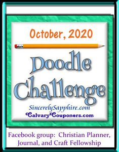 "The October 2020 Doodle Challenge (sorry I missed this last month). Our theme is Harvest. As a Christian, I avoid the classic ""Halloween"" type of themes, but we can be thankful to the Lord of the Harvest for all He's blessed us with, and there's plenty to celebrate.   ~~~~~~~~~~~~~~~~~~~~~~~~~~~~~~~~~~~~~~~~~~~~~~~~ … Continue reading →"