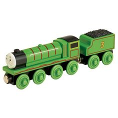 The Official PBS KIDS Shop | Thomas & Friends Wooden Railway Henry the Green Engine - Action & Toy Figures - Toys & Games
