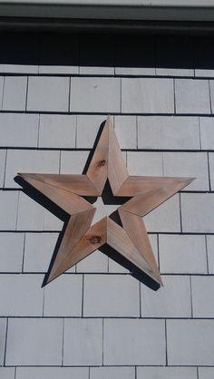 Handmade Primitive Barnwood Star 24 Rustic by SplintersWoodBoards