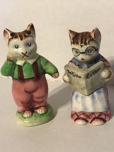 Suggest vintage motorcycle bunnies salt pepper shakers can