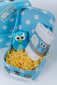 Blue soap Owl