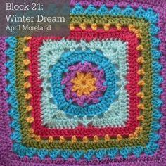 Block 21 Winter Dream April Moreland Photo Tutorial 300x300 Block a Week CAL 2014