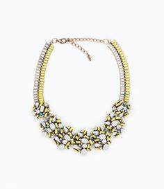 Shiny Stone Necklace from Zara R499,00
