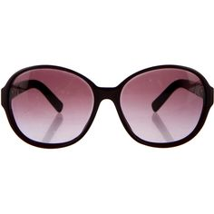 Pre-owned Chanel Perle Gradient Sunglasses ($295) ❤ liked on Polyvore featuring accessories, eyewear, sunglasses, purple, chanel sunglasses, logo sunglasses, gradient glasses, chanel glasses and gradient sunglasses