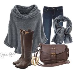 """""""Evening Stroll"""" by orysa on Polyvore"""