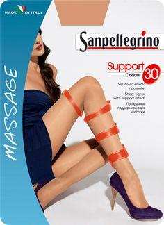 COLLANT SUPPORT 30 | Massage | Calze Classiche | Sanpellegrino | Csp International Fashion Group s.p.a.