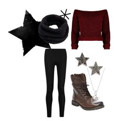 """""""Meet me under the stars✨"""" by alisha-dovey on Polyvore featuring Donna Karan, Steve Madden, Dana Rebecca Designs and Helmut Lang"""