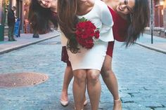 Color coordinated bridesmaids   Create memories with your BFF– Bridesmaids photoshoot Ideas WE LOVED! Bride's BFFs   Bride tribe   Indian bridesmaids   Destination weddings   Bridal squad   Picture Credits: Shooting Stars   Every Indian bride's Fav. Wedding E-magazine to read. Here for any marriage advice you need   www.wittyvows.com shares things no one tells brides, covers real weddings, ideas, inspirations, design trends and the right vendors, candid photographers etc.