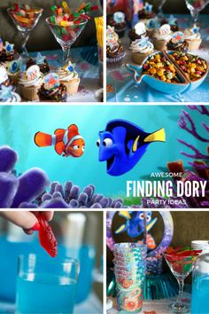 awesome finding dory party ideas