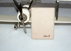 personalized leather passport holder personalized leather by araga, $45.00