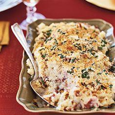 Parmesan and Chive Potato Gratin