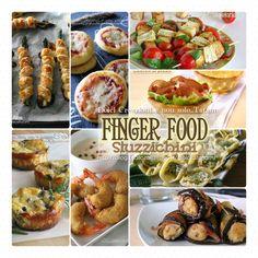 Finger food e stuzzichini ideali e perfetti piccoli bocconcini da mangiare esclusivamente con le mani. Finger food = Cibo da mangiare con le mani.