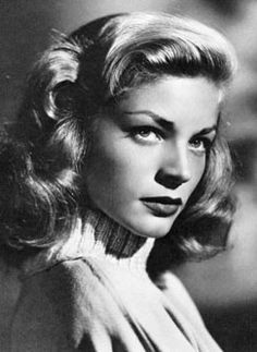 Lauren Bacall: THE definition of sultry. Her beauty was surpassed only by her cool self-possession and fierce intelligence.