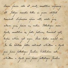 Victorian Handwriting Font   Handwritten Fonts - VICTORIAN