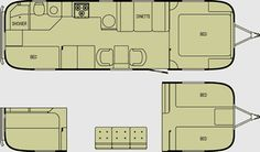 Older bunkhouse - put dinette on other side and extend kitchen