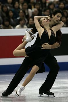 Kaitlyn Weaver and Andrew Poje of Canada compete in the Ice Dance Free Dance Final during day three of the ISU Grand Prix of Figure Skating Final 2013/2014 at Marine Messe Fukuoka on December 7, 2013 in Fukuoka, Japan.