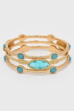 Marquise Arielle Bracelet in Gold