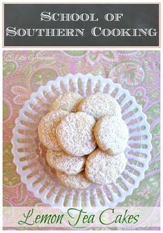 Lemon Tea Cakes {Sch